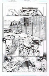 Wonder Woman Agent of Peace #10 pg01 inks