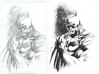 Fandome Batman - inks for fun