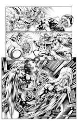 DC Love is a Battlefield Hawkman-Hawkwoman #1 pg3