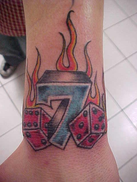 Lucky number 7 by mmmfreak on deviantart for Lucky seven tattoo