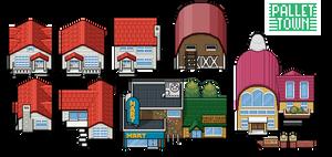 Pallet Town Tiles