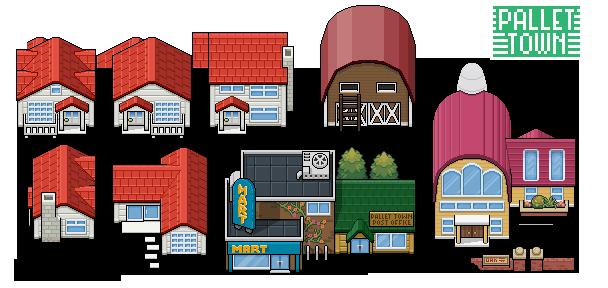 Pallet Town Tiles By Morlockhater On Deviantart