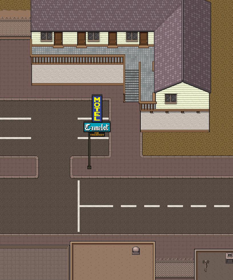 Wip camelot motel exterior by morlockhater on deviantart for Motel exterior design