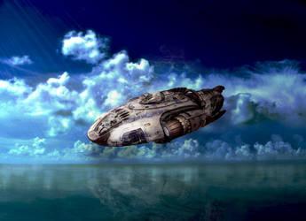 Spaceship by Dreamviewcreation