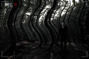 The Slenderman by Dreamviewcreation