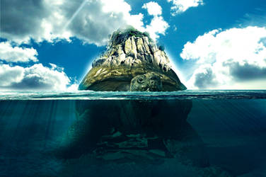 Turtle Island by Dreamviewcreation