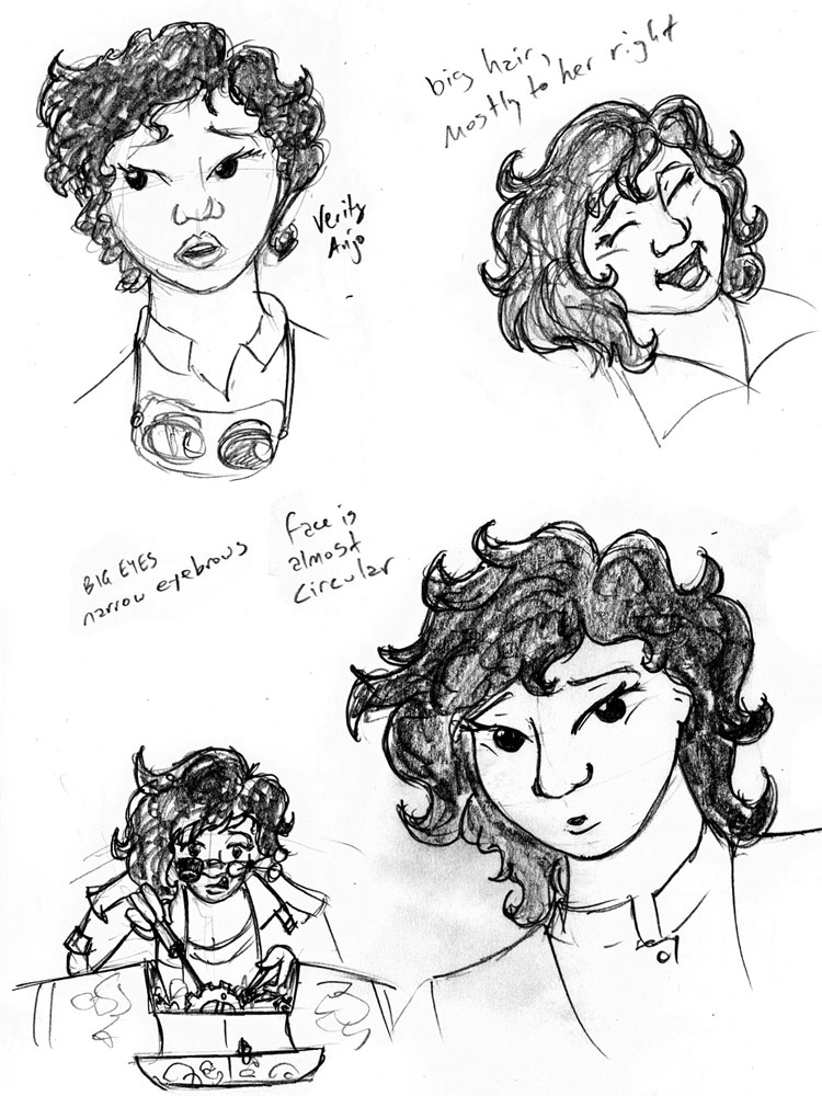 Arclight -- Verity Sketches