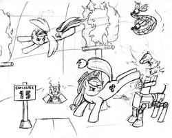 MLPFIM Danger Room Deathmatch