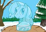 MLPFIM: Rarity Ice Sculpture Collab