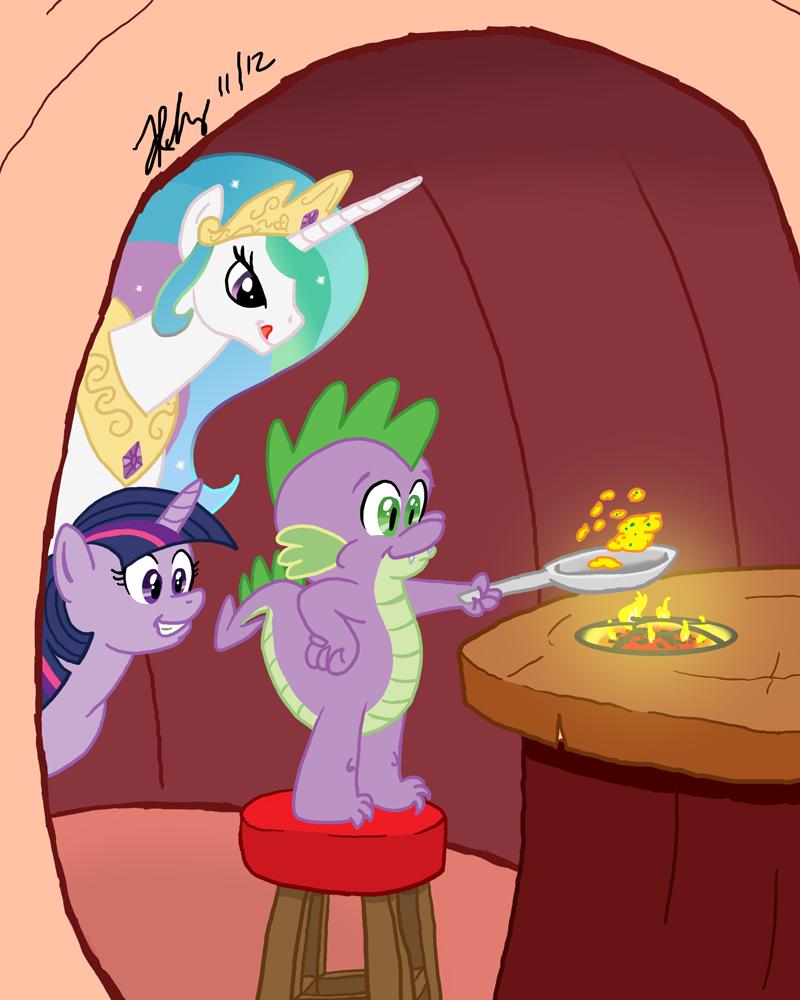 MLPFIM: Spike's Kitchen