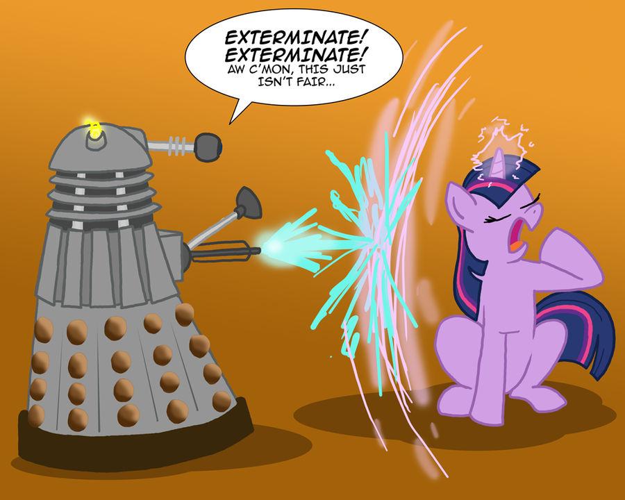 MLPFIM: Pony vs. Dalek 2 -- Twilight Sparkle