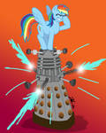 MLPFIM: Pony vs. Dalek 4 -- Rainbow Dash