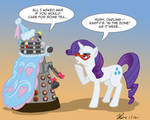 MLPFIM: Pony vs. Dalek 6 -- Rarity
