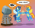 Pony vs. Dalek #8: Spitfire and Soarin