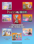 Ponies vs. Daleks Cover