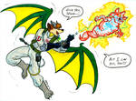 Spyke Tyranno, Ghostbuster
