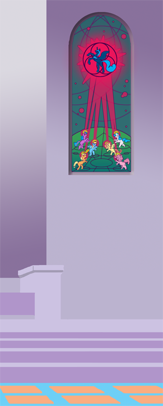 Stained Glass: Foalpapers Commish Teaser 2 by the-gneech