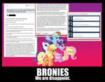 Bronies, We Are Disappoint