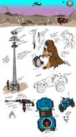 Comic Dev Sketches