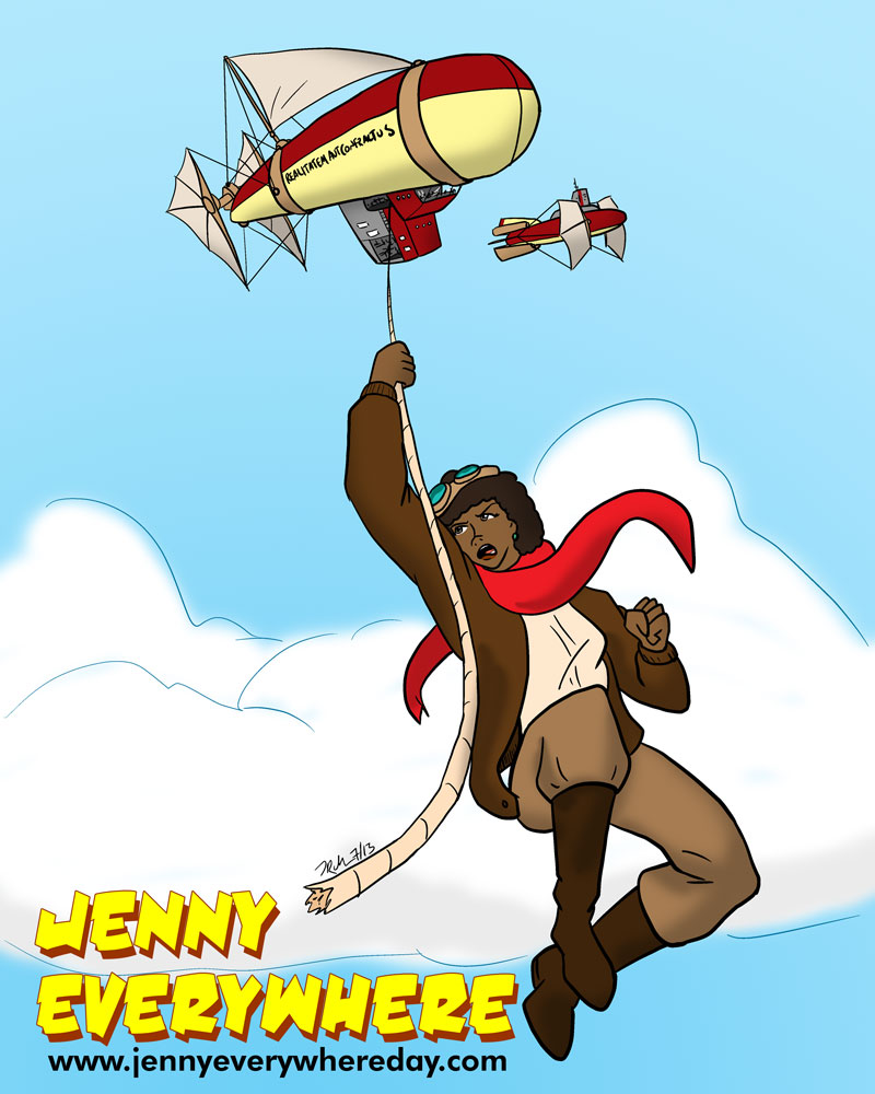 Jenny Everywhere 2013