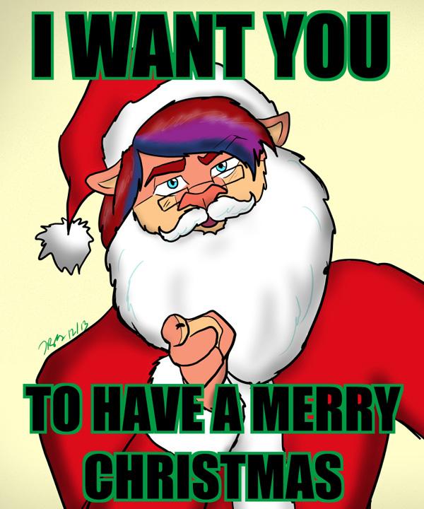 Gneech Christmas Card 2013