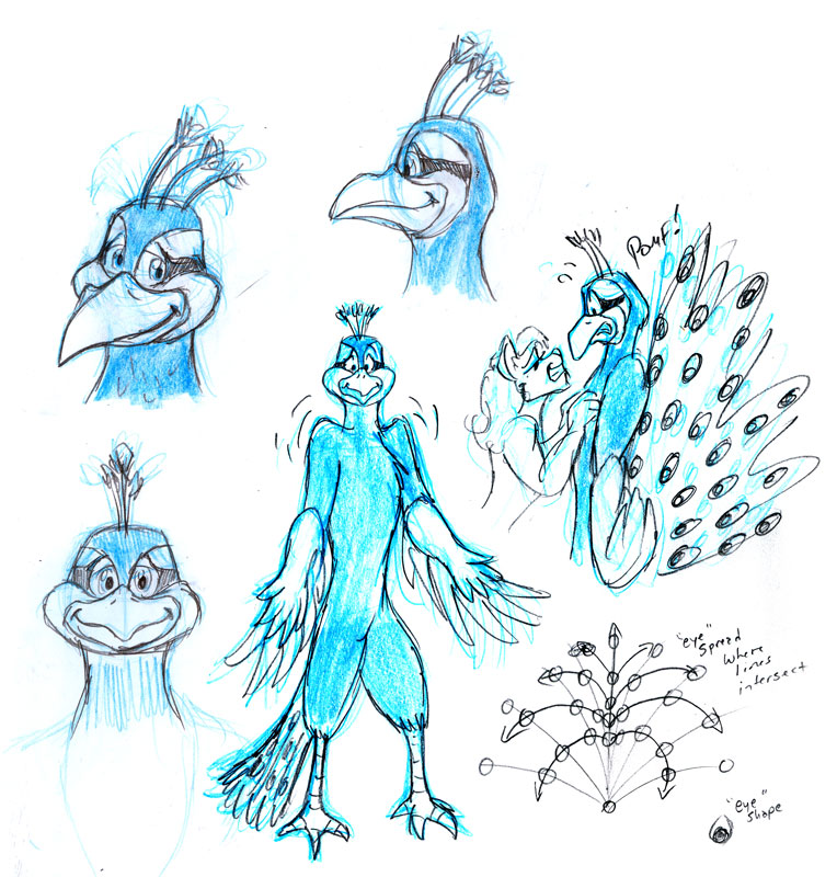 Parker Peacock Dev Sketches