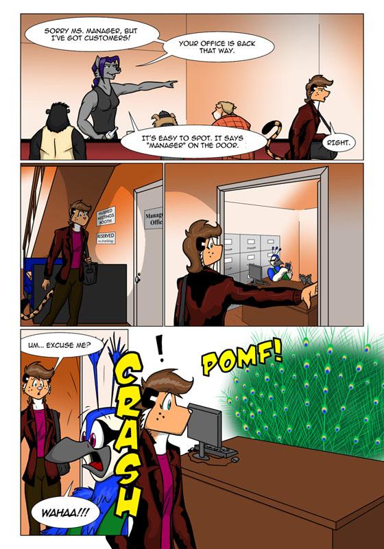 New Comic Sneak Peek, Page Six