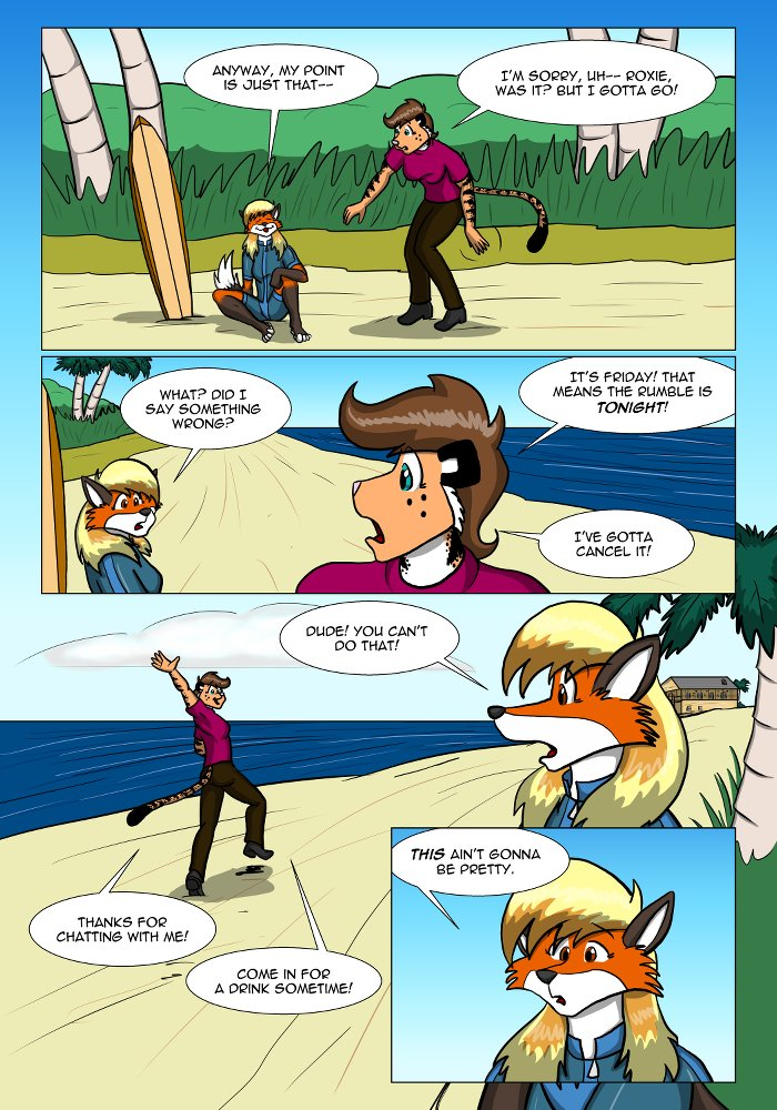 Rough Housing Issue One Page Eighteen by the-gneech