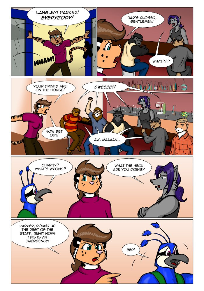 Rough Housing Issue One Page Ninteen by the-gneech