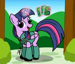 Twilight Sparkle Filly Scout