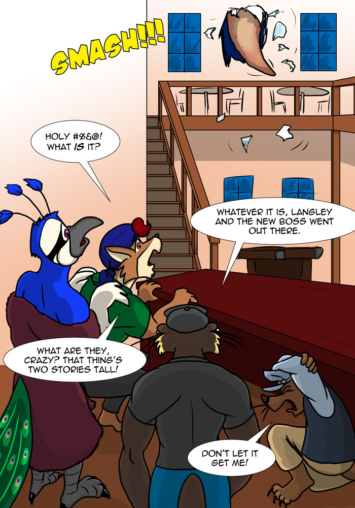 Rough Housing Issue Three Page 05 by the-gneech