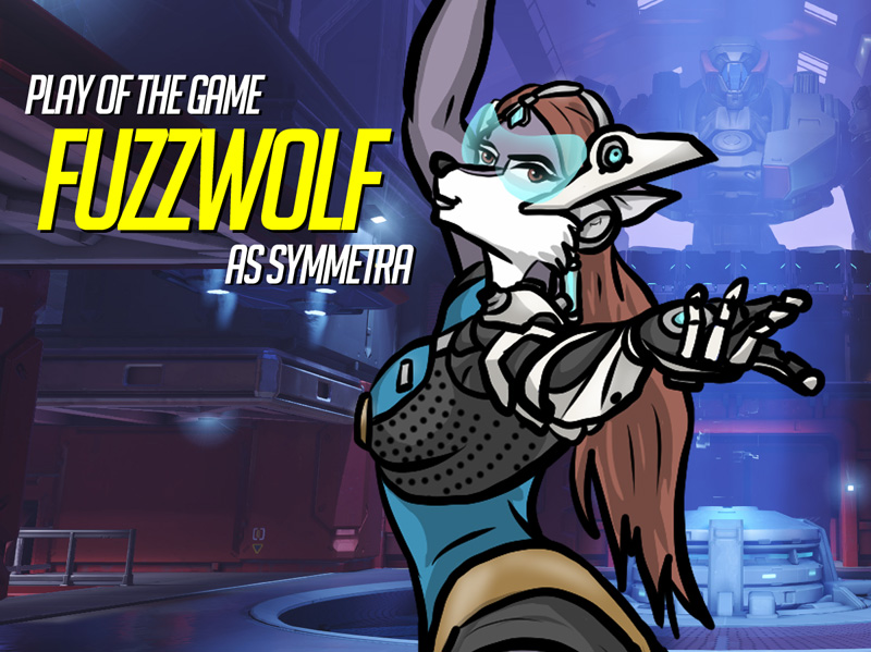Play of the Game Badge: Fuzzwolf