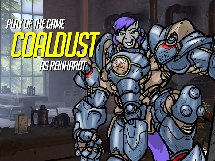 Play of the Game Badge: Coaldust by the-gneech