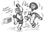 Teddy v. Chuckie by the-gneech