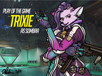 Play of the Game Badge: Trixie