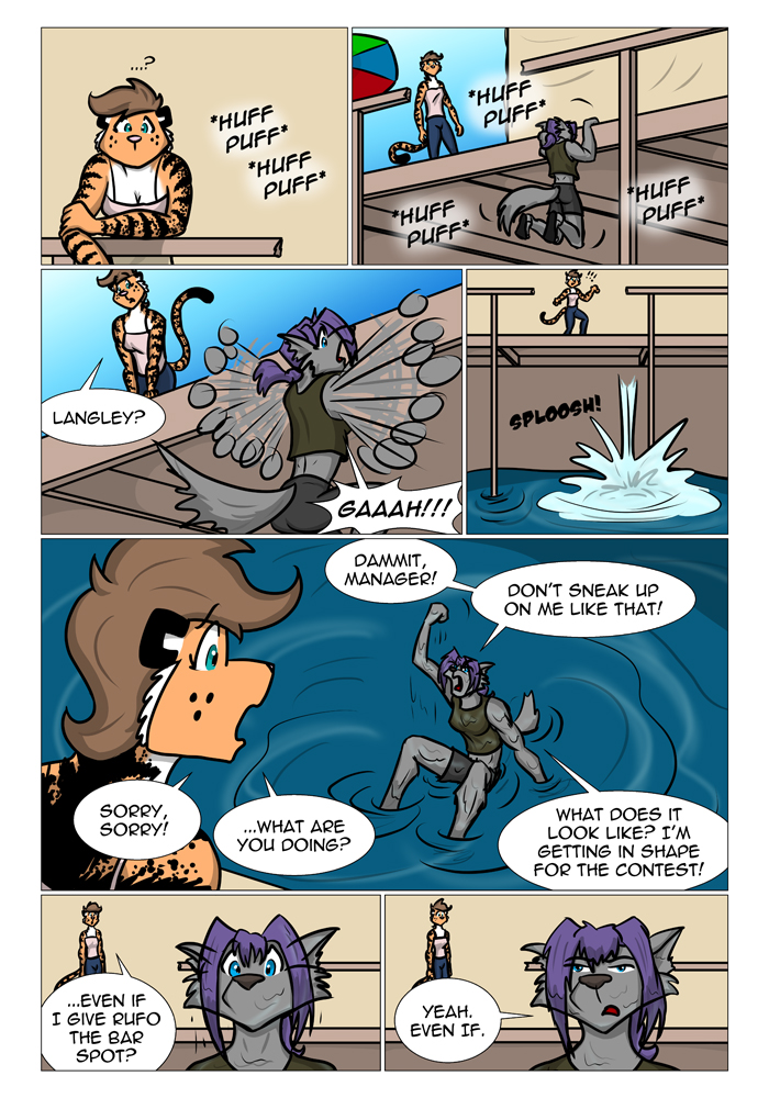 Rough Housing Issue Four Page Thirteen by the-gneech