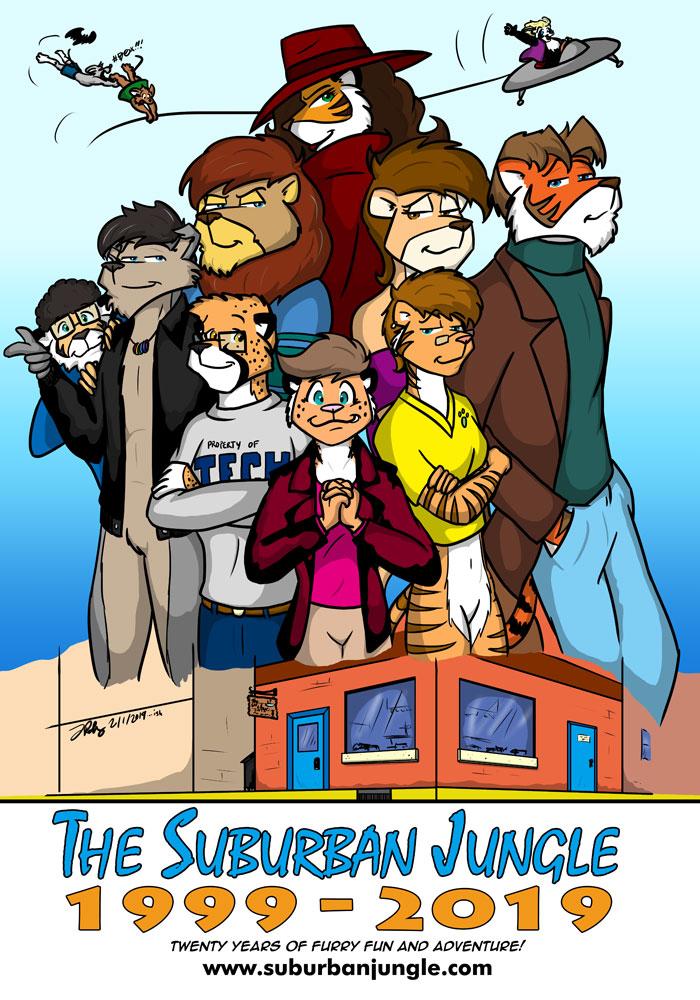 Twenty Years of The Suburban Jungle! by the-gneech