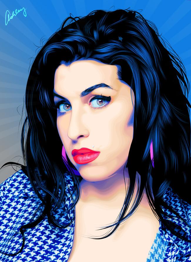 Amy Winehouse By Fabulosity On Deviantart