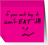 don't eat it by fabulosity