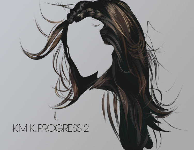 Kim K Progress 2 by fabulosity