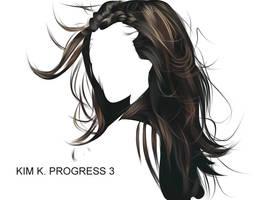KIM K PROGRESS 3 by fabulosity