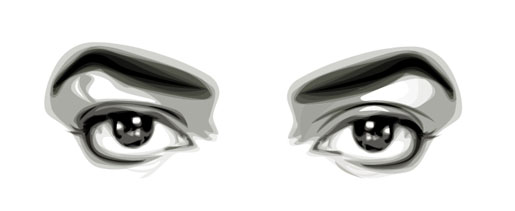 Michael Jackson's Eyes by fabulosity