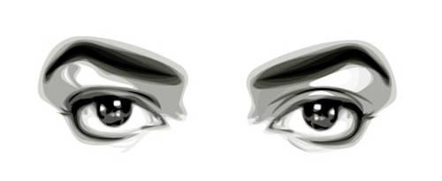 MJ Eyes by fabulosity