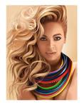 Beyonce On The Sun