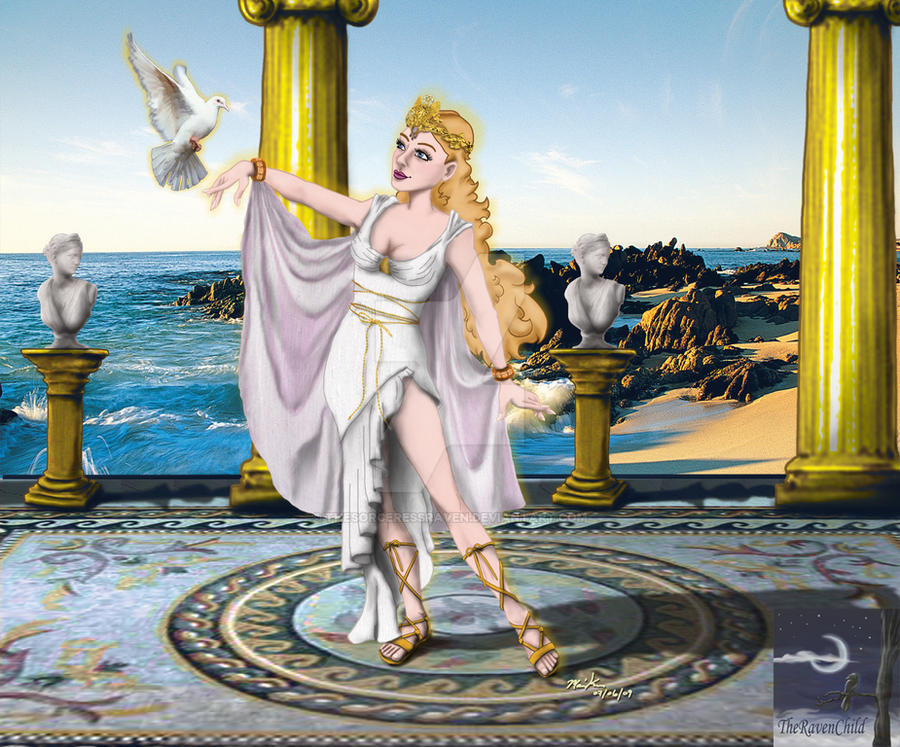 Aphrodite - Goddess of Love by TheSorceressRaven on DeviantArt
