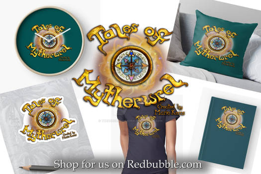 Tales of Mytherwrel Merchandise - Compass Title