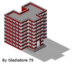 Isometric Building 4 by Gladiatore79