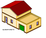 Isometric House garage by Gladiatore79