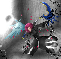 Maelstrom Marluxia by TheDoctorArtist