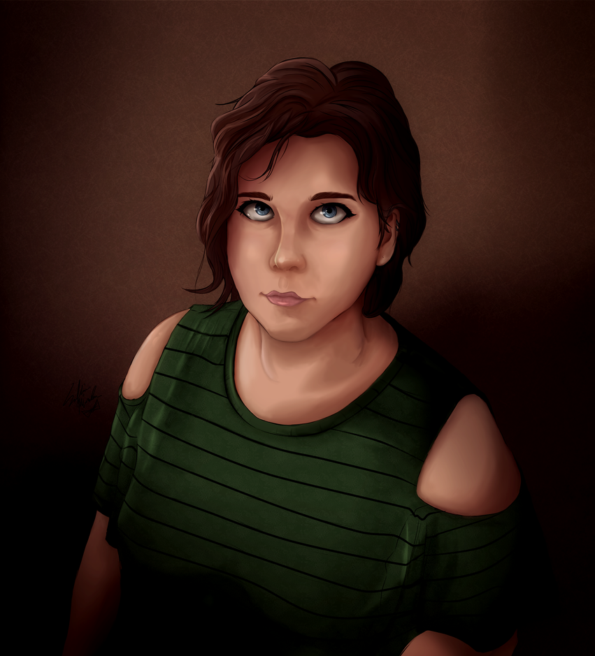 Portrait of Deta by TheDoctorArtist